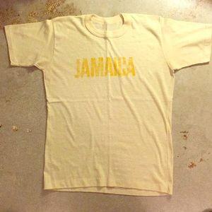 """Vintage """"Jamaica"""" t-shirt Size: S"""